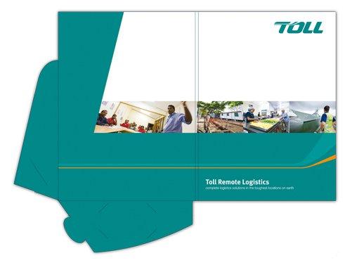 Presentation folders type 2
