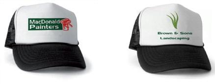 Custom printed truckers caps