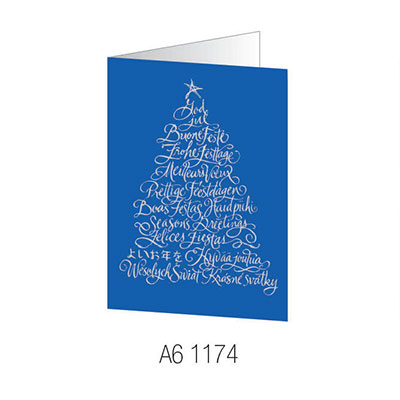 Cheap christmas card printing corporate xmas cards free delivery a61174 christmas card reheart Choice Image