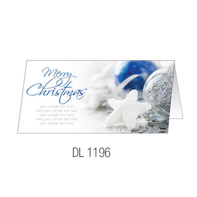 DL1196 Christmas Card