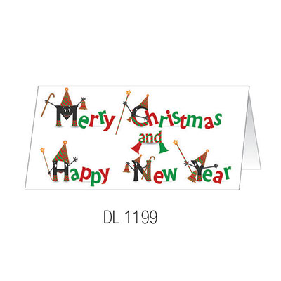 DL1199 Christmas Card