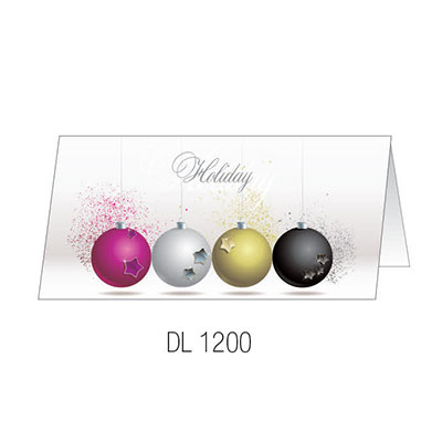 DL1200 Christmas Card